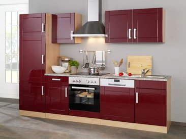 HELD Küchenzeile »Varel «, Leerblock, B 280 cm, aus MDF, Selbstmontage