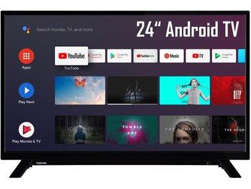 TOSHIBA 24WA2063DA 24 Zoll Fernseher (HD ready, HDR10, Android Smart TV, Bluetooth, Google Assistant, Triple Tuner)