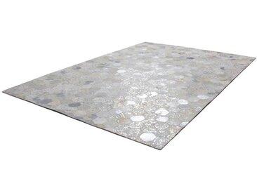 KAYOOM Designerteppich Spark 210 Grau / Silber