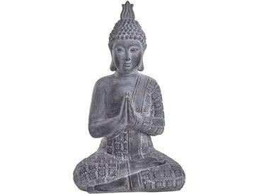 Butlers - BUDDHA Statue H 71 cm - Grau