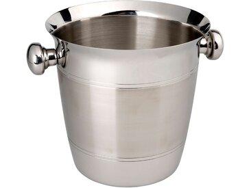 Butlers - CHAMPAGNE Flaschenkühler - Silber