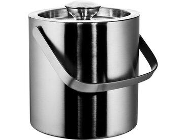 Butlers - ON ICE Eiseimer mit Zange 1,3 l - Silber