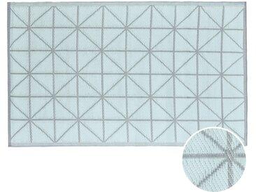 Butlers - COLOUR CLASH In- & Outdoor-Teppich Diamant L 180 x B 120cm - Salbei