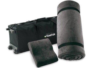 Tempur® Reiseset, tragbares Schlafsystem, Reisetrolley S - 61 x 40 x 9,5 cm - weiß