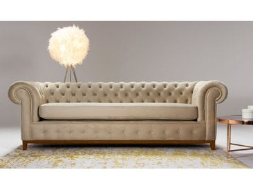 Dreisitzer-Sofa Chesterfield Grand