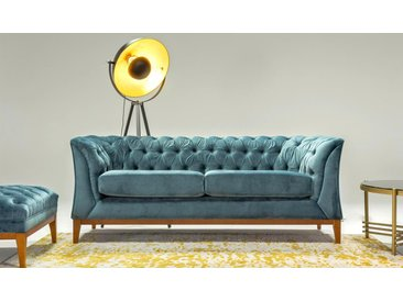 Zweisitzer-Sofa Chesterfield Modern Wood