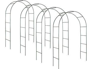 4 Rosenbögen, 240 x 140 cm