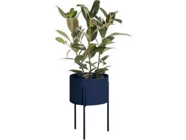 Blumentopf Metall Blau | Pflanzkästen | Pflanzenkübel | Blumenständer