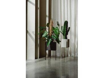 Blumentopf Metall Schwarz | Pflanzkästen | Pflanzenkübel | Blumenständer