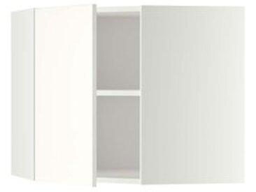 IKEA METOD Wandeckschrank mit Böden weiß/Häggeby weiß 68x60 cm