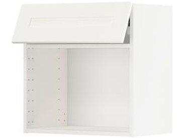 IKEA METOD Wandschrank für Mikrowellenherd weiß/Sävedal weiß