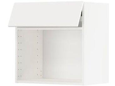 IKEA METOD Wandschrank für Mikrowellenherd weiß/Veddinge weiß