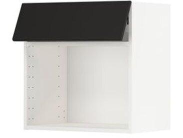 IKEA METOD Wandschrank für Mikrowellenherd weiß/Kungsbacka anthrazit