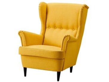 IKEA STRANDMON Ohrensessel Skiftebo gelb Skiftebo gelb