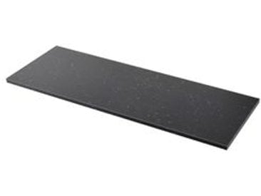IKEA SÄLJAN Arbeitsplatte schwarz marmoriert/Laminat 186x3.8 cm