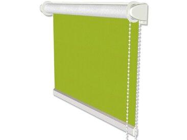 Klemmfix Thermorollos / Seitenzugrollos in Grün - Verdunkelungsrollos 41,5x175 cm