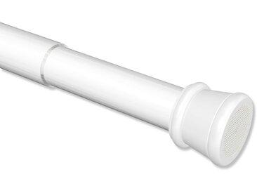 Spannstangen / ausdrehbare Klemmstangen / Klemmfix Duschstangen Tensofix Weiß 80-130 cm
