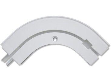 Rundbogen Kunststoff für Concept Gardinenschienen 1-läufig Weiß