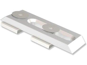 Deckenträger / Deckenhalterung Universal Metall 0,3 cm für eckige Innenlaufstangen (Set 2 Stück)