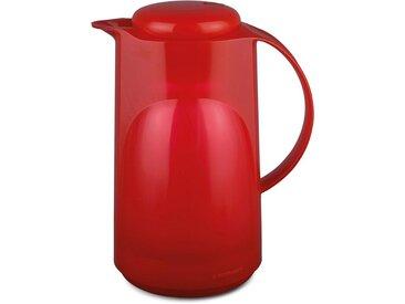 Isolier-Kanne , rot, Inhalt 1 l, »300«, ROTPUNKT