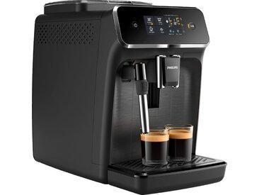 Kaffeevollautomat, 24.7x36.6x43.4 cm (BxHxT), Philips, schwarz, Material Keramik