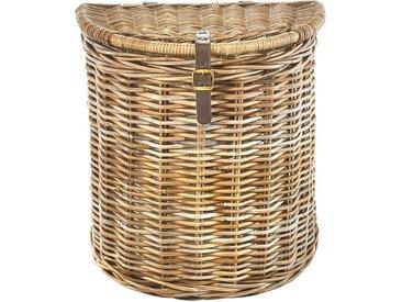 Wäschekorb »Kubu«, 32x55x51 cm (BxHxT), locker, Material Rattan, Textil