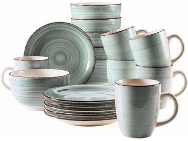 Home affaire  Kaffee-Service   »Bel Tempo«, blau, Material Keramik