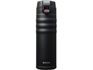 Isolierflasche »Flip Top«, schwarz, 500 ml, Inhalt 0,5 l, KYOCERA