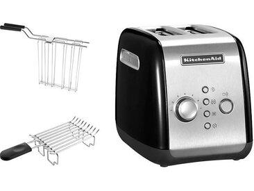 Toaster 5KMT221EOB mit Brötchenaufsatz und Sandwichzange, KitchenAid