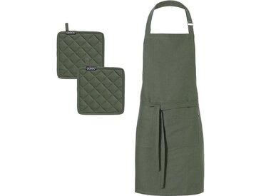 Kochschürze »Kit«, grün, hochwertig, , , DDDDD