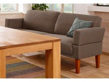 Sofa »Fehmarn«, Home affaire, braun, Material Buche