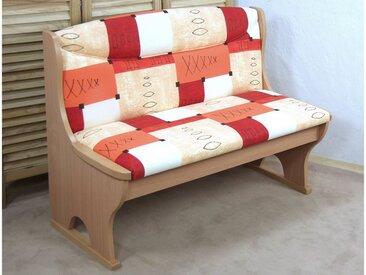 Banktruhe , FSC®-zertifiziert, rot, Material Massivholz »Madrid«, Yourhome, strapazierfähig