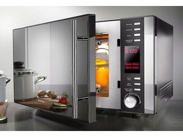 Privileg Mikrowelle 285902, Grill und Heißluft, 25 l, 3-in-1 Gerät