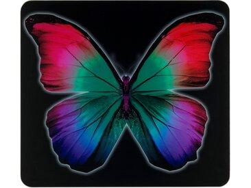 Herd-Abdeckplatte, schwarz »Butterfly by Night«, WENKO