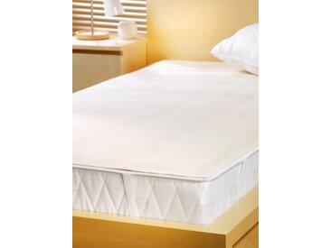 Matratzenschutzbezug, beige, Material Baumwolle, SETEX