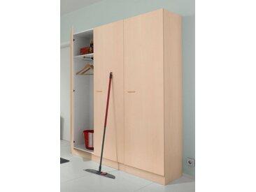 Mehrzweckschrank »Elster«, 50x200x50 cm (BxHxT), Held Möbel, mehrfarbig, Material Holzwerkstoff, Kunststoff, Metall, Melamin