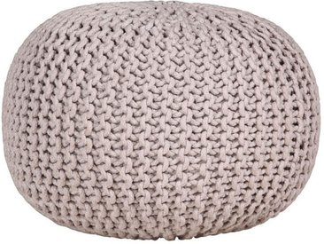 Pouf, grau, Material Baumwolle, Gutmann Factory