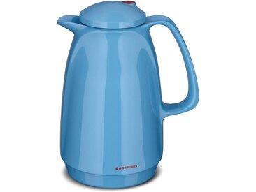 Isolierkanne , 0,5 l, blau, Inhalt 1 l, »Smurf«, ROTPUNKT