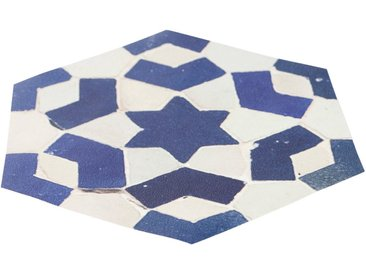 MySpotti Duscheinlage »Klebefliese stepon Enrico, Hexagon«, B: 35 cm, L: 30 cm, 1-tlg., antirutsch