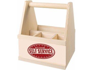 Besteckträger, Material Holz »Self Service«, Contento
