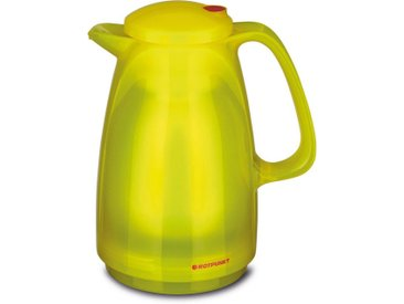 Isolierkanne , 0,5 l, gelb, Inhalt 0,5 l, »Glossy Canary«, ROTPUNKT