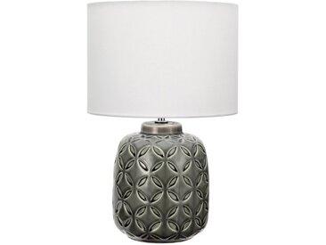 Teichleuchte »Glowing Bloom«, Höhe 40 cm, Pauleen, grau, Material Keramik, Stoff