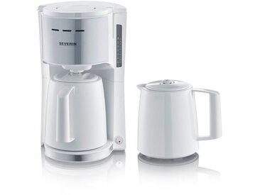 Severin Filterkaffeemaschine KA 9257, 1l Kaffeekanne, 1x4, mit 2 Thermokannen