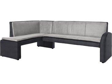 Eck-Bank »Cortado«, 157x89x244 cm (BxHxT), FSC®-zertifiziert, exxpo - sofa fashion, grau, Material Holzwerkstoff