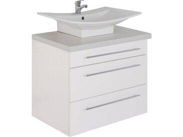 Waschtisch »Laos 3110«, weiß, MARLIN, Soft-Close-Funktion