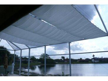 Sonnensegel »Bausatz Universal«, Floracord, grau, Material Polyester, wasserabweisend