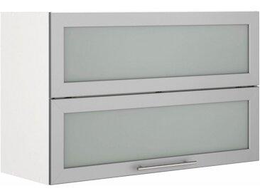 Faltlifthängeschrank, weiß »Ela«, wiho Küchen, Soft-Close-Funktion