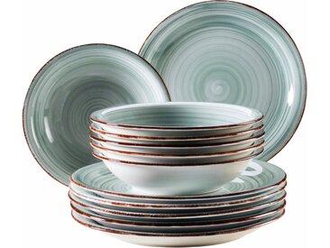 Home affaire  Tafel-Service  , blau, Material Keramik »Bel Tempo«