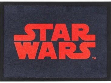 Fussmatte  »Star Wars SWD-2«, 50x70 cm, schwarz, STAR WARS, Motiv
