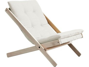 Karup Design  Faltstuhl  Bezugsqualität 1, FSC®-zertifiziert, beige, Material Buche »Boogie«